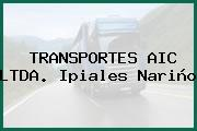TRANSPORTES AIC LTDA. Ipiales Nariño