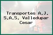 Transportes A.J. S.A.S. Valledupar Cesar