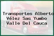 Transportes Alberto Vélez Sas Yumbo Valle Del Cauca