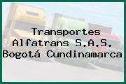 Transportes Alfatrans S.A.S. Bogotá Cundinamarca