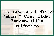 Transportes Alfonso Pabon Y Cia. Ltda. Barranquilla Atlántico