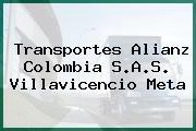 Transportes Alianz Colombia S.A.S. Villavicencio Meta