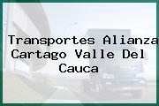 Transportes Alianza Cartago Valle Del Cauca