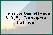 Transportes Alvacar S.A.S. Cartagena Bolívar