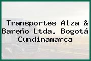 Transportes Alza & Bareño Ltda. Bogotá Cundinamarca