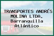 TRANSPORTES ANDRÉS MOLINA LTDA. Barranquilla Atlántico