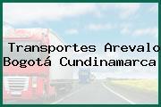 Transportes Arevalo Bogotá Cundinamarca