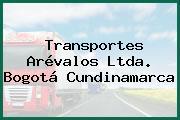 Transportes Arévalos Ltda. Bogotá Cundinamarca