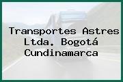 Transportes Astres Ltda. Bogotá Cundinamarca