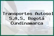 Transportes Autosol S.A.S. Bogotá Cundinamarca