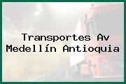 Transportes Av Medellín Antioquia