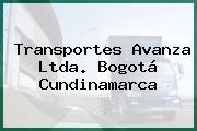Transportes Avanza Ltda. Bogotá Cundinamarca
