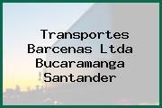 Transportes Barcenas Ltda Bucaramanga Santander