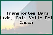 Transportes Bari Ltda. Cali Valle Del Cauca