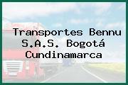 Transportes Bennu S.A.S. Bogotá Cundinamarca