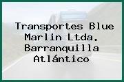 Transportes Blue Marlin Ltda. Barranquilla Atlántico