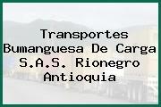 Transportes Bumanguesa De Carga S.A.S. Rionegro Antioquia