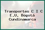 Transportes C I C E.U. Bogotá Cundinamarca