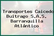Transportes Caicedo Buitrago S.A.S. Barranquilla Atlántico