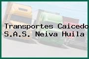 Transportes Caicedo S.A.S. Neiva Huila