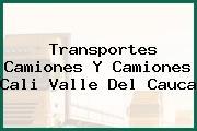 Transportes Camiones Y Camiones Cali Valle Del Cauca