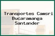 Transportes Camsri Bucaramanga Santander