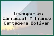 Transportes Carrascal Y Franco Cartagena Bolívar