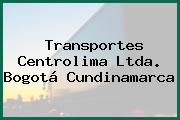 Transportes Centrolima Ltda. Bogotá Cundinamarca