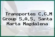 Transportes C.G.M Group S.A.S. Santa Marta Magdalena
