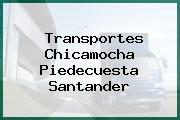 Transportes Chicamocha Piedecuesta Santander
