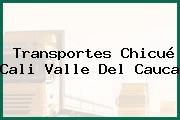 Transportes Chicué Cali Valle Del Cauca
