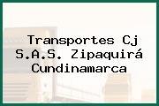 Transportes Cj S.A.S. Zipaquirá Cundinamarca