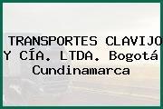 TRANSPORTES CLAVIJO Y CÍA. LTDA. Bogotá Cundinamarca