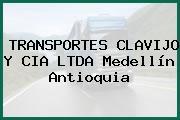 TRANSPORTES CLAVIJO Y CIA LTDA Medellín Antioquia