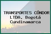TRANSPORTES CÓNDOR LTDA. Bogotá Cundinamarca