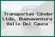 Transportes Cóndor Ltda. Buenaventura Valle Del Cauca