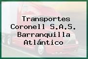 Transportes Coronell S.A.S. Barranquilla Atlántico