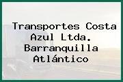 Transportes Costa Azul Ltda. Barranquilla Atlántico