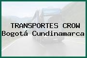 TRANSPORTES CROW Bogotá Cundinamarca