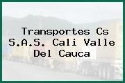 Transportes Cs S.A.S. Cali Valle Del Cauca