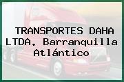 TRANSPORTES DAHA LTDA. Barranquilla Atlántico