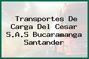 Transportes De Carga Del Cesar S.A.S Bucaramanga Santander