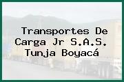 Transportes De Carga Jr S.A.S. Tunja Boyacá
