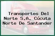 Transportes Del Norte S.A. Cúcuta Norte De Santander