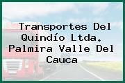 Transportes Del Quindío Ltda. Palmira Valle Del Cauca