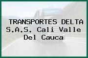 TRANSPORTES DELTA S.A.S. Cali Valle Del Cauca