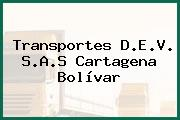 Transportes D.E.V. S.A.S Cartagena Bolívar
