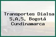 Transportes Dialsa S.A.S. Bogotá Cundinamarca