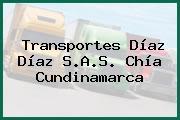 Transportes Díaz Díaz S.A.S. Chía Cundinamarca