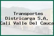 Transportes Districarga S.A. Cali Valle Del Cauca